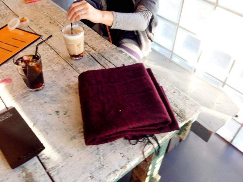フリーライドカフェ/ブランケット