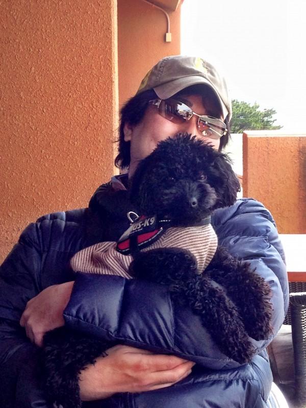 イル・キャンティ/犬とテラス