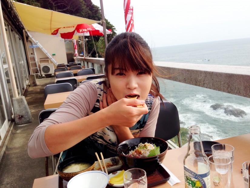 富士見亭/食事中