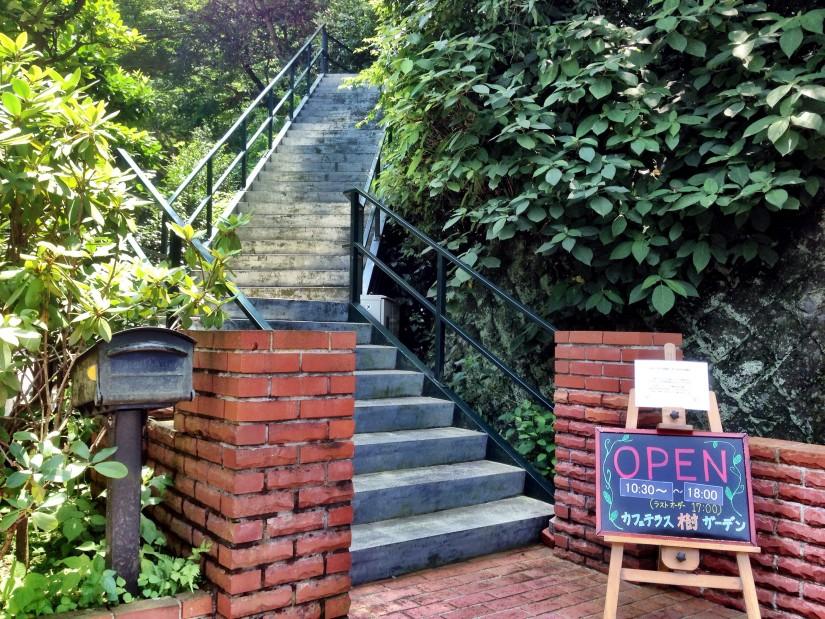 樹ガーデン/入り口