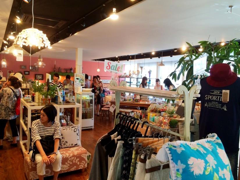SPORTIFF CAFE/2階全景