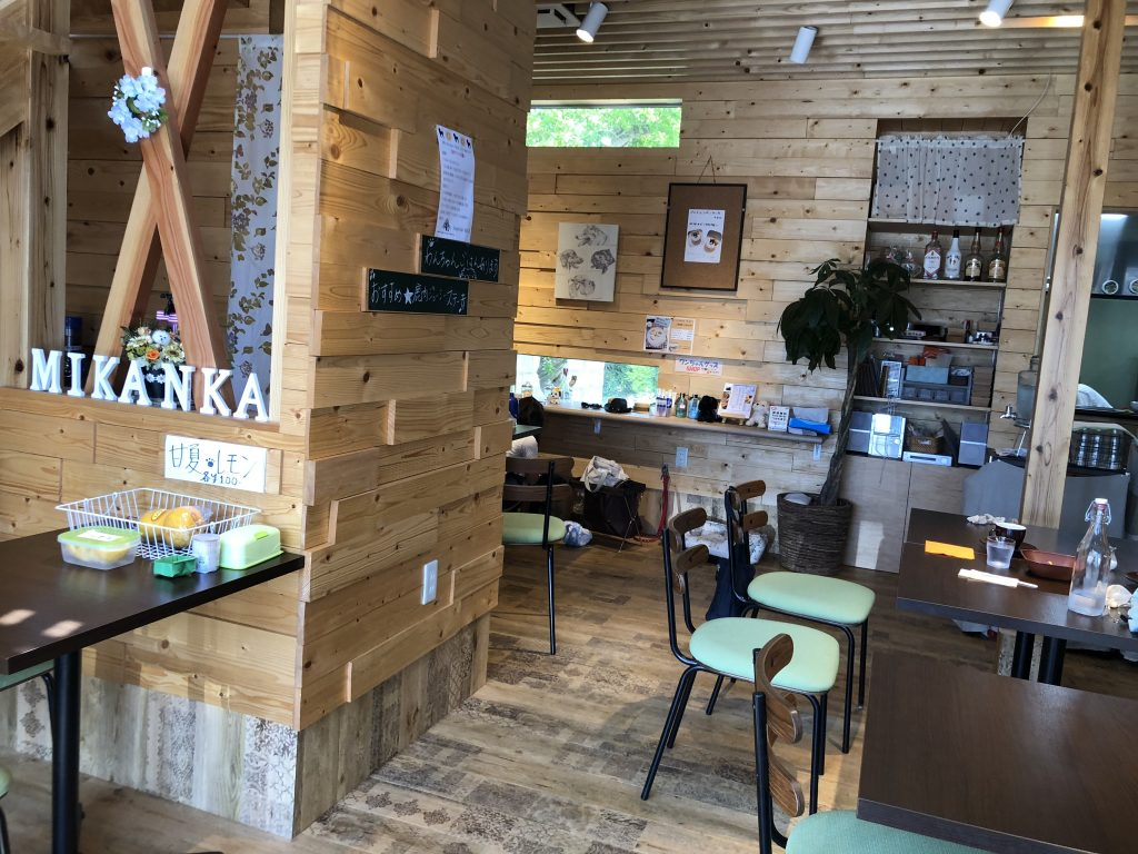 Mikanka/店内