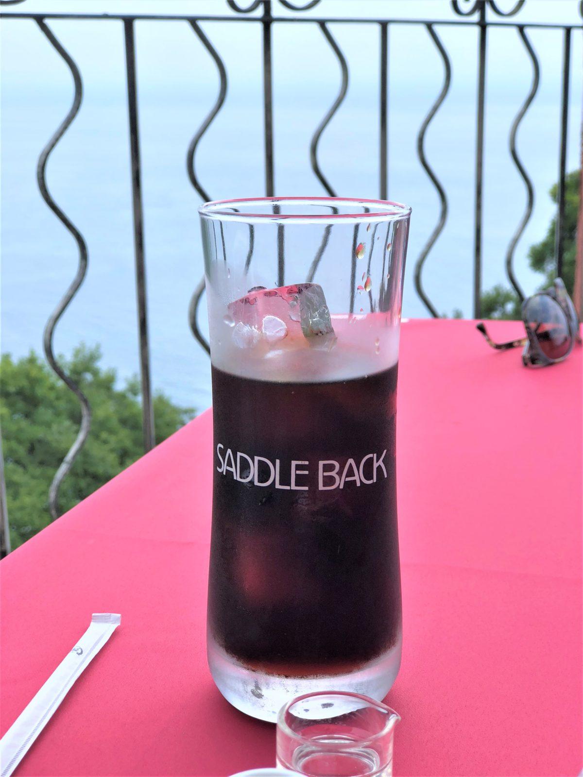 saddleback/アイスコーヒー